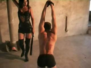 Slave husband gets punished b...