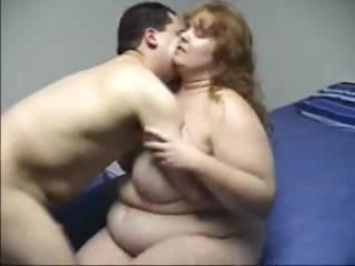 BBW Ginger Heather Gets A Nice Sex Session