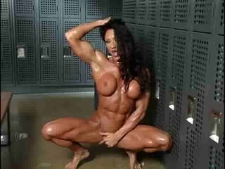 Hot female muscles
