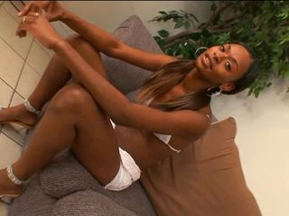 ebony couple in hottest action