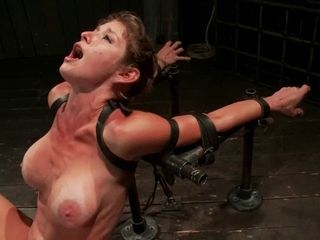 BDSM with intense pussy stimulation
