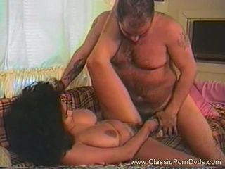 Busty hot slut loves asshole cock plugging