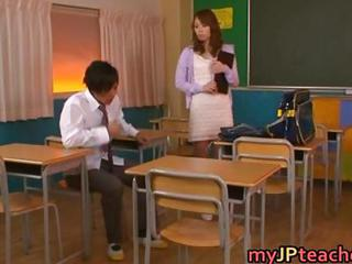 Eri Ouka Sweet Asian Teacher Enj...