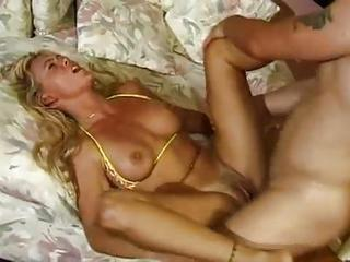 Plowing A Blonde In Her Tight As...