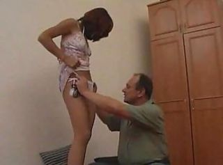 Blonde mature fucks young boy