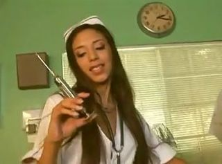 Babe Latina Nurse Pornstar Uniform