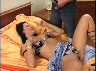 Persian goddess fucked by thick cock. _: blowjobs brunettes handjobs milfs tits lingerie