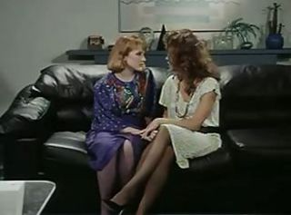 Office Lesbians in retro movie _: big boobs lesbians vintage