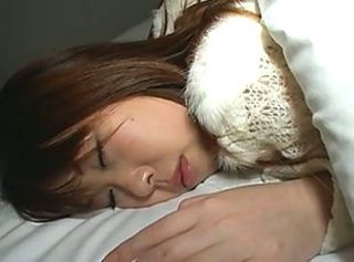 Amazing Asian Japanese Sleeping Teen