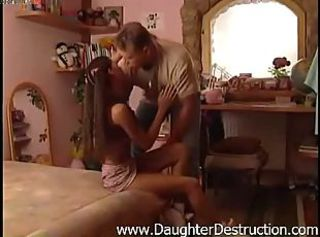 Old daddy wants young teen girlfriend ass