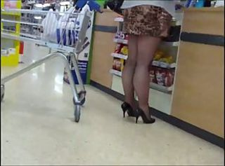 Fishnet tights and heels 1