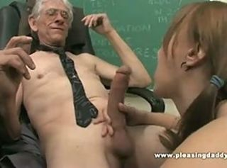 Amazing Blowjob Handjob Pigtail School Student Teen