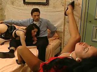 Angel -Couple try a CHIC Hooker.... F70