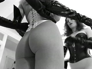 Ass Corset Latex MILF