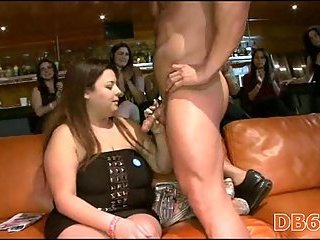 BBW Blowjob CFNM MILF Party