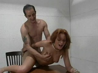 Brunette sucks and gets her pussy filled