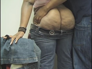 Amateur Ass BBW Ebony Jeans