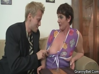 Mature Mom Old and Young SaggyTits