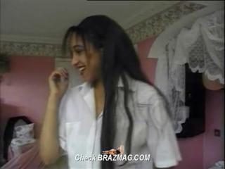 Amateur Arab Long hair Teen