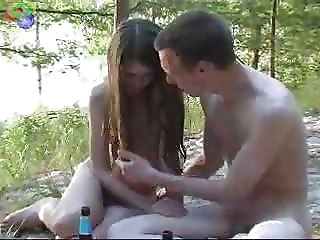 Amateur Nudist Outdoor Skinny Teen