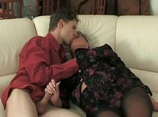 Handjob Mature Old and Young Pantyhose Russian