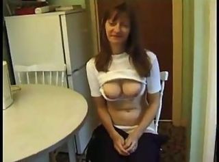 Amateur British European Kitchen MILF