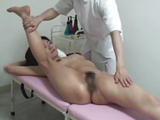 Japanese girl is massaged in the nude tubes
