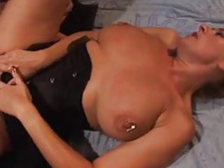 The most heavily pierced pussy you have ever seen tubes