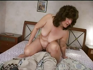Mature Mom Old and Young Russian SaggyTits