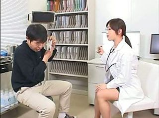 Asian Glasses Japanese Nurse Teen Uniform