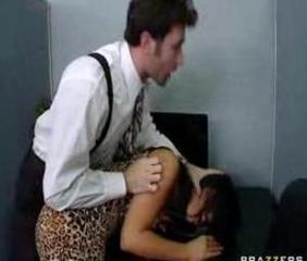 Forced Hardcore MILF Office
