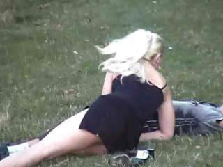 Clothed Girlfriend Outdoor Public Voyeur