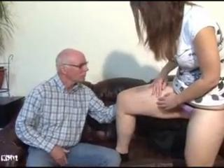 Amateur Daddy Daughter European German Old and Young