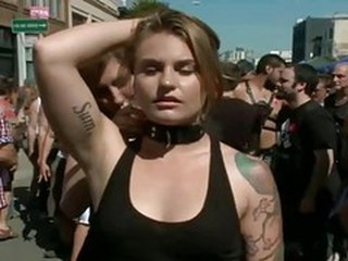 Fetish Public Slave Tattoo Teen