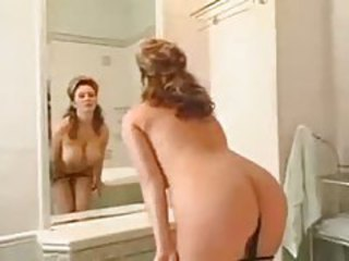 Milf gets naked and takes a bath tubes