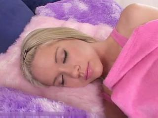 Babe Cute Maid Sleeping Teen
