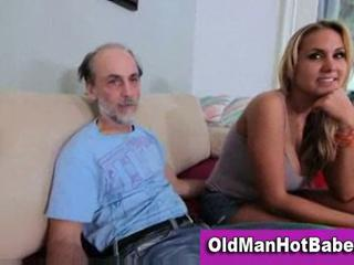 Cute Old and Young Teen