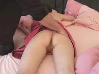 Young brunette fucks like the morning