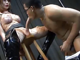 Shemale - Huge Cock in Fishnets Stream Movie