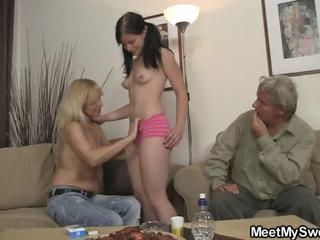 Girlfriend Old and Young Small Tits Teen