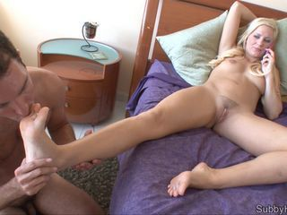 Blondine Füsse  MILF Teen
