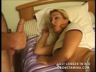 Amateur Blonde French Handjob Teen