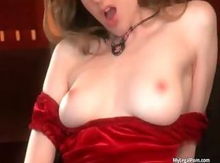Amazing solo action by sexy Diane