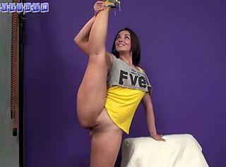 Cute Flexible Shaved Sport