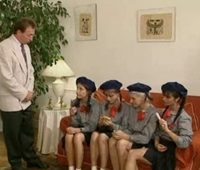 Pigtail School Teen Uniform Vintage