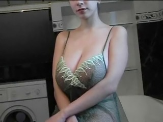 Amazing Bathroom Big Tits Natural Teen