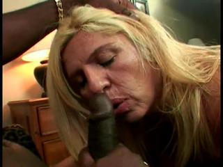 Awesome Interracial Fun with a Black Shemale Queen