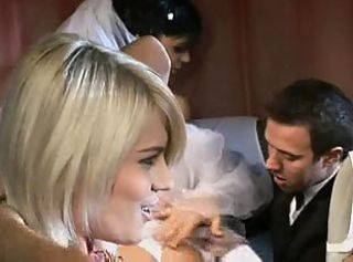 The Bride & Groom Share Each Other.CBR