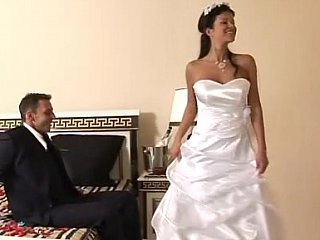 Bride Brunette Cute MILF
