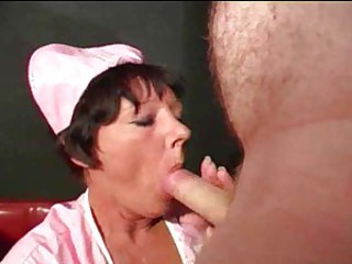 Brunette Mature Nurse Uniform